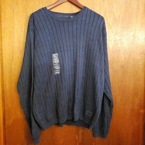 Izod Jeans navy blue men's sweater